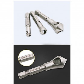 JIGONG Mata Bor Drill Bit Countersink HSS 3 PCS - JGI-KL3 - Silver - 7