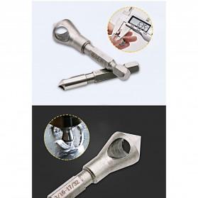JIGONG Mata Bor Drill Bit Countersink HSS 3 PCS - JGI-KL3 - Silver - 8