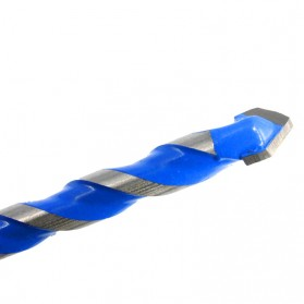 Lavie Mata Bor Triangle Bits Stainless Steel 6mm - L2075 - Silver Blue - 5