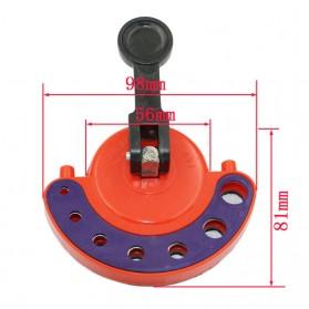 AI-ROAD Alat Bantu Bor Kaca Glass Hole Drill Guide Locator Positioner 4-12mm - AI810 - Orange - 2