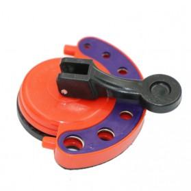 AI-ROAD Alat Bantu Bor Kaca Glass Hole Drill Guide Locator Positioner 4-12mm - AI810 - Orange - 3