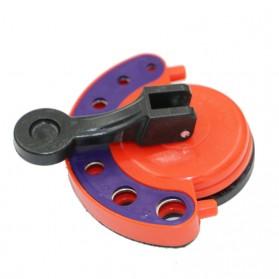 AI-ROAD Alat Bantu Bor Kaca Glass Hole Drill Guide Locator Positioner 4-12mm - AI810 - Orange - 5
