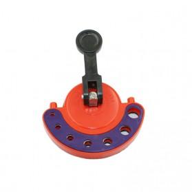 AI-ROAD Alat Bantu Bor Kaca Glass Hole Drill Guide Locator Positioner 4-12mm - AI810 - Orange - 6