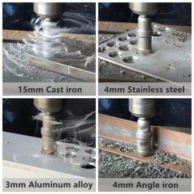 Versery Mata Bor Hole Saw Drill Bit Carbide Cobalt Steel 30mm - WJ-651 - Silver - 7