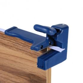 QST Alat Potong Kayu Double Edge Trimmer Banding Machine - QST-KU - Blue