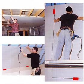 Allsome Alat Bantu Pemasangan Kayu Plasterboard Fixing Tool 2PCS - HT2698 - Green - 3
