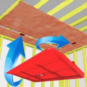 Allsome Alat Bantu Pemasangan Kayu Plasterboard Fixing Tool 2PCS - HT2698 - Green - 5