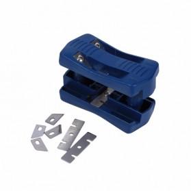 QST Alat Potong Kayu Double Edge Trimming Device Block Banding Machine - QST-KU - Blue