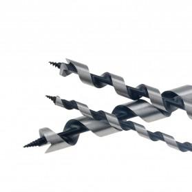 VENSTPOW Mata Bor Power Drill Bit Hexagon Shank Wood Hole Opener 22 x 230 mm - Silver