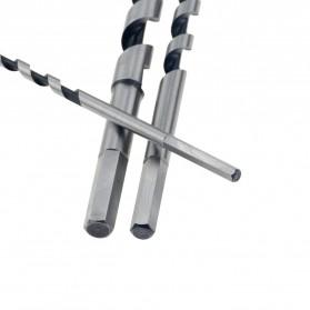 VENSTPOW Mata Bor Power Drill Bit Hexagon Shank Wood Hole Opener 22 x 230 mm 1PCS - Silver - 4