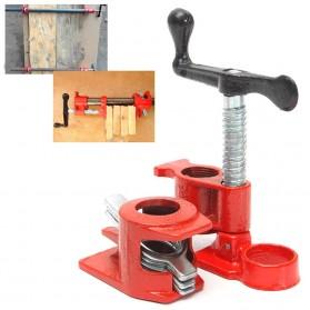 FNICEL Klem Penjepit Pipa Wood Gluing Pipe Clamp Set Carpenter Tools - F701 - Black