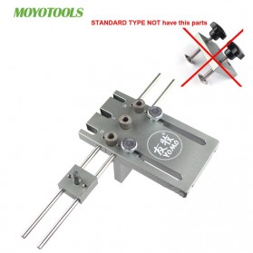 YOMO Alat Bantu Bor 3 in 1 Dowelling Jig Drill Guide Locator Positioner Standard Version - MD590 - Silver