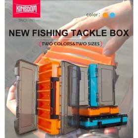 KINGDOM Kotak Perkakas Kail Umpan Pancing Fishing Box 14 Slot - LYH-1017 - Orange - 6