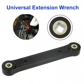 Mixxar Kunci Pas Universal Extension Wrench Hand Tool DIY 3/8 Inch - TR-38V1 - Black