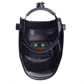 VERMARK Helm Las Otomatis Auto Darkening Welding Helmet - HW-012 - Black/Blue - 7