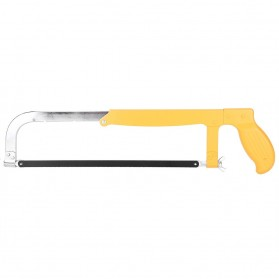 WALFRONT Gergaji Tangan Multifungsi Pemotong Kayu Besi Electroplated Saw - KT-2209 - Yellow - 3