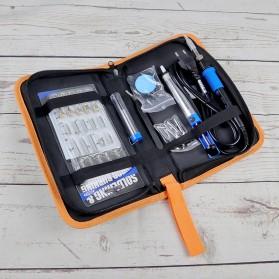 Dusco.E Kit Solder Alat Ukir Kayu Engraving Wood Pyrography 60W 40 Set - A60 - Blue