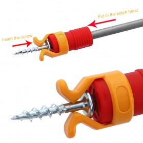 Xueliee Alat Bantu Clamp Mur Baut Screw Holder Fixing Set - WX014 - Red