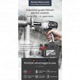 NANWEI Kunci Pas Listrik Cordless Lithium Battery Rechargeable - 398tV - Black - 5