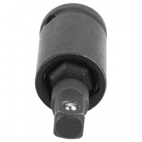 WALFRONT Adapter Kunci Pas Bor Listrik Wrench Socket Pneumatic Universal Joint 3 PCS - 20755A - Black - 4