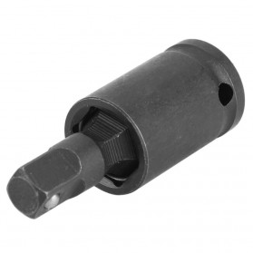 WALFRONT Adapter Kunci Pas Bor Listrik Wrench Socket Pneumatic Universal Joint 3 PCS - 20755A - Black - 5