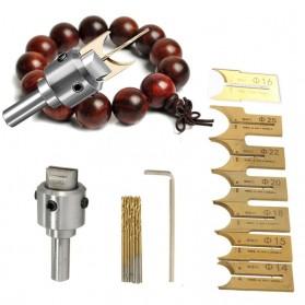 HUHAO Mata Bor Drill Bit DIY Buddha Tasbih Beads Drill 6-25mm - R02 - 2