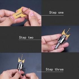HUHAO Mata Bor Drill Bit DIY Buddha Tasbih Beads Drill 6-25mm - R02 - 5