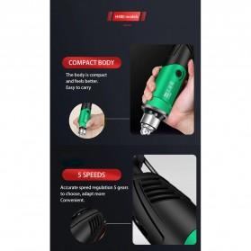 Wan Sheng Da Bor Listrik Polishing Engraver Grinder Electric Drill 500W - WG01 - Green - 9