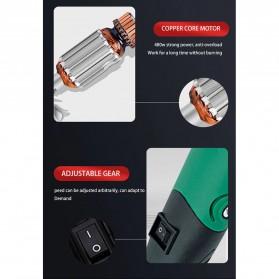 Wan Sheng Da Bor Listrik Polishing Engraver Grinder Electric Drill 500W - WG01 - Green - 7