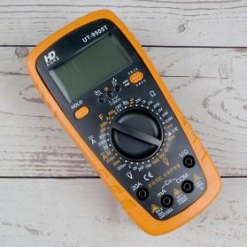 GES Digital Multimeter AC/DC Voltage Tester - UT-9505T - Orange
