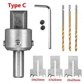 HUHAO Mata Bor Drill Bit DIY Ring Beads Drill 17 18 21mm - SK7201