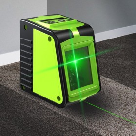 RICHMETERS Self Leveling Projector Green Laser 2 Line Horizontal Vertical - R515 - Green