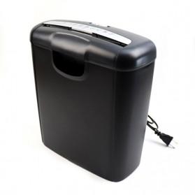 Jinrong Mesin Penghancur Kertas Handheld Paper Shredder A4 - JR0128 - Black
