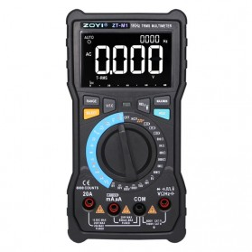 ZOYI Digital Multimeter Voltage Tester - ZT-M1 - Black