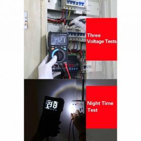 ZOYI Digital Multimeter Voltage Tester - ZT-M1 - Black - 5