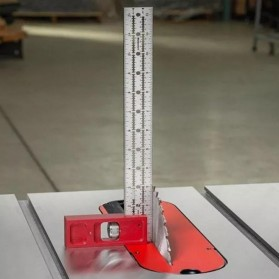 FNICEL Penggaris Combination Square Angle Ruler Woodworking 12 Inch - 0121 - Red - 4