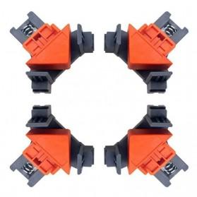 VAHIGCY Corner Clamp Clip Penjepit Sudut Kayu Angle 90 Derajat 4 PCS - AT8809
