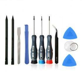 Spare Part Smartphone & Tablet - E-Durable Peralatan Reparasi Smartphone 11 in 1 Repair Tools Set - W3012 - Black