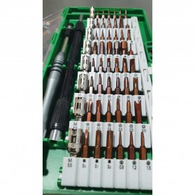 SKIUNT Obeng Set Reparasi Magnetic Head 60 in 1 - 6100 - Green - 2