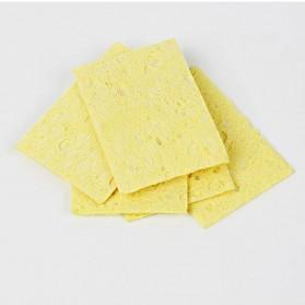 LUXIANZI Sponge Pembersih Timah Solder 60x60 mm 5PCS - CSC-2G - Yellow