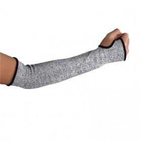 Toporchid Sarung Tangan Anti Goresan Pisau Lengan Tangan Arm Sleeve Cut Resistant Anti Puncture Work Protection 1 PCS -  BX102 - Gray