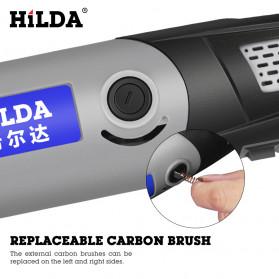 Hilda Bor Listrik Polishing Engraver Grinder Electric Drill 400W - MD400 - 6