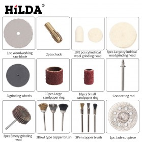 Hilda Set Mata Bor Grinding Polishing Cutting Drill 264 PCS - KSDMPJ-2 - 3