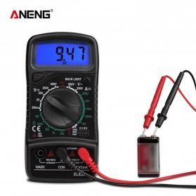 ANENG Digital Multimeter Voltage Tester - XL830 - Black