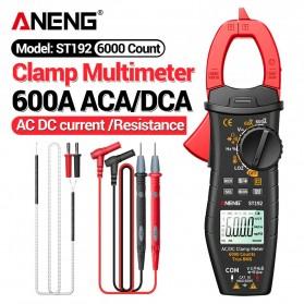 ANENG Digital Multimeter Voltage Tester Clamp - ST192 - Red
