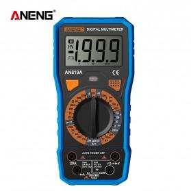 ANENG Digital Multimeter Voltage Tester - AN819A - Black