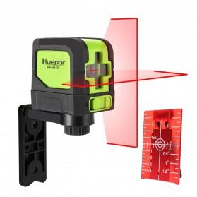 Huepar Self Leveling Projector Green Laser 2 Line Horizontal Vertical - 9011G - Black/Green - 2