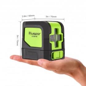 Huepar Self Leveling Projector Green Laser 2 Line Horizontal Vertical - 9011G - Black/Green - 3