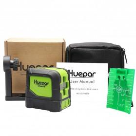 Huepar Self Leveling Projector Green Laser 2 Line Horizontal Vertical - 9011G - Black/Green - 6