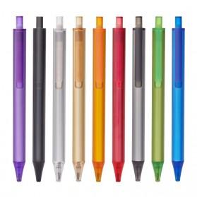 KACO TUBE Gel Pen Pena Pulpen Bolpoin Aluminium  0.5mm 1 PCS - K1024 (Black Ink) - Black - 2